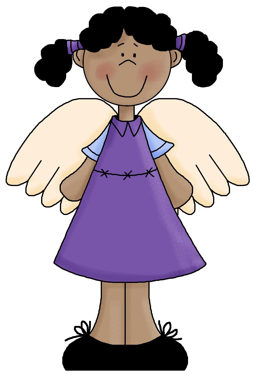 Black angel clipart png transparent stock Black Angel Clipart - Free Clipart png transparent stock