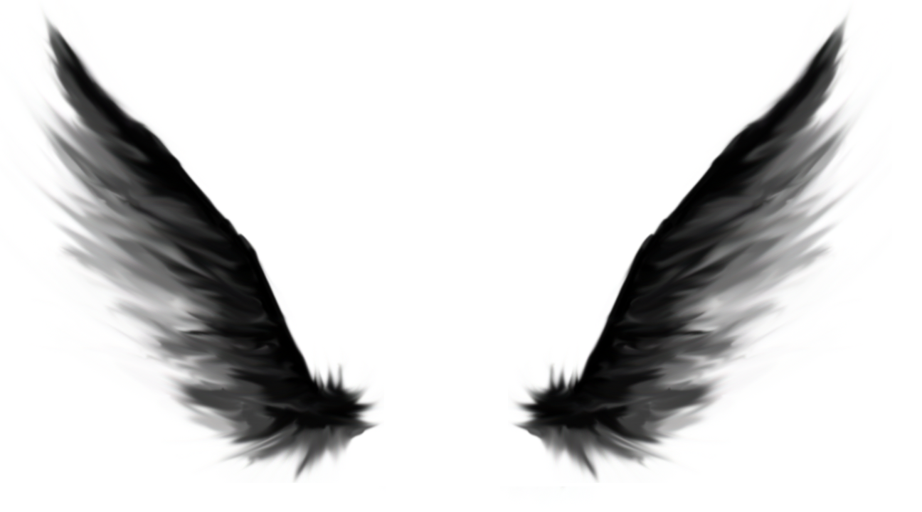 Black angel wings clipart png royalty free download Angel Wings | Free download best Angel Wings on ClipArtMag.com png royalty free download