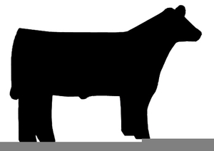 Black angus clipart picture stock Black Angus Steer Clipart | Free Images at Clker.com - vector clip ... picture stock