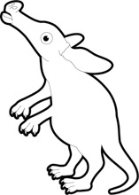 Black animal clipart freeuse download Free Black and White Animals Outline Clipart - Clip Art Pictures ... freeuse download