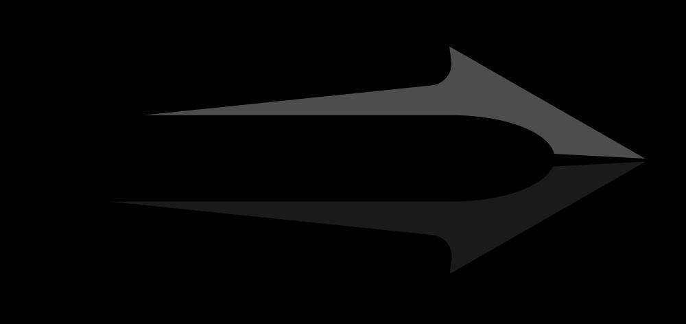 Black arrow clip art clip black and white library Black Arrow - Rooweb Clipart clip black and white library