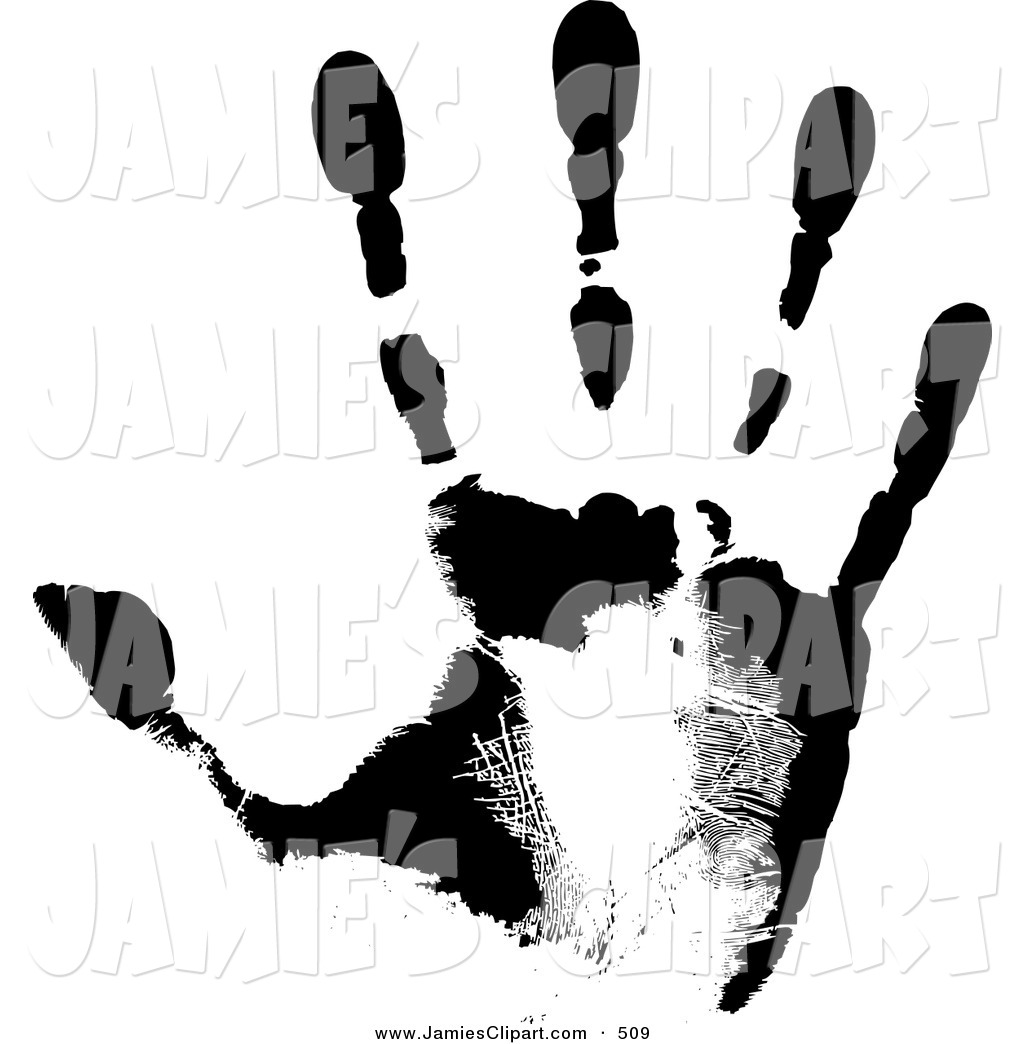 Black background and white hand print clipart vector download Handprint Clipart Black And White | Clipart Panda - Free Clipart Images vector download