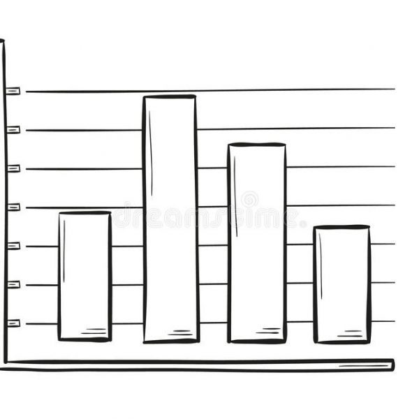 Black bar clipart vector clipart stock Sketch Of The Bar Chart Stock Vector. Illustration Of Cartoon inside ... clipart stock