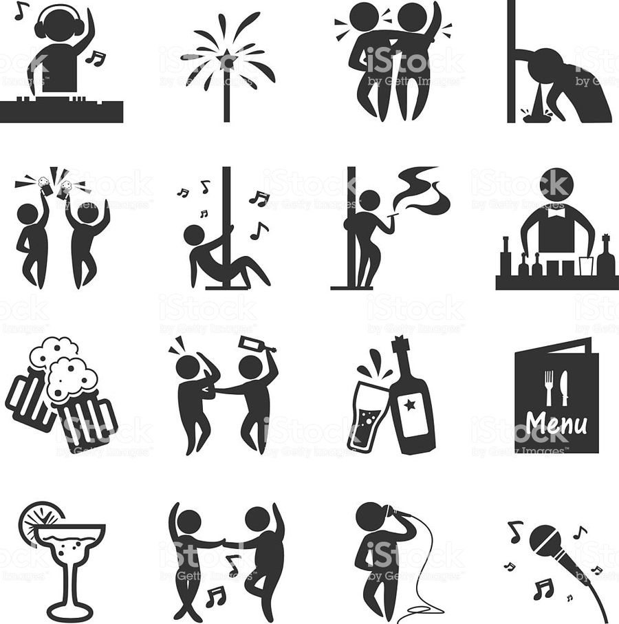 Black bar clipart vector png free stock Bar, Illustration, Dance, Drawing, Black, Cartoon, Text, Silhouette ... png free stock