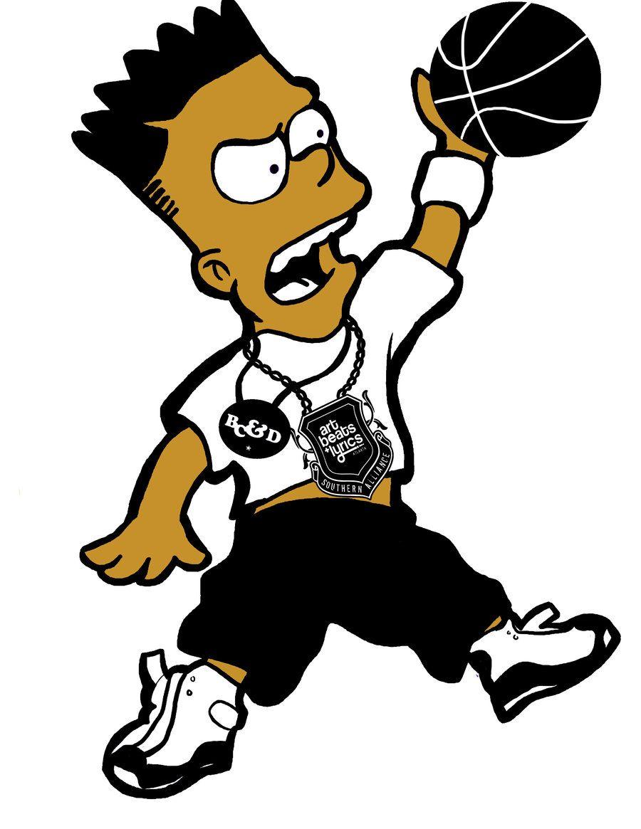 Black bart simpson clipart jpg freeuse Black Bart Simpson | BLack BARt SImpson by Cavaad-master | Things to ... jpg freeuse