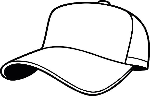 Black baseball cap clipart banner free library Hat Clipart Black And White Baseball Cap Clipart Custom Skull Caps ... banner free library
