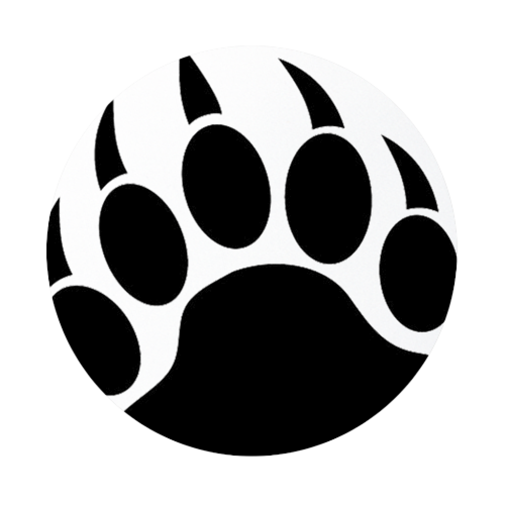 Black bear paw print clipart graphic library download Bear Paw Png (+) - Free Download | fourjay.org graphic library download