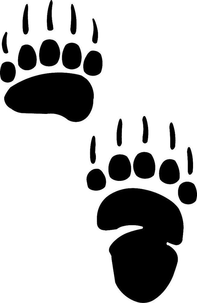 Black bear paw print clipart jpg freeuse Free Bear Paw Print, Download Free Clip Art, Free Clip Art on ... jpg freeuse