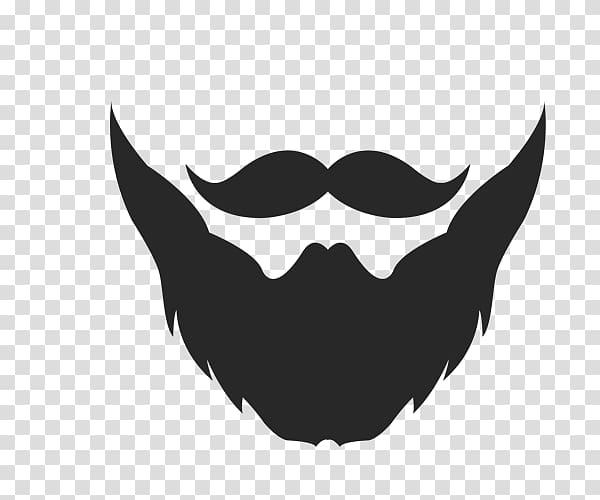 Black beard clipart image black and white stock Black beard logo, T-shirt Hoodie Beard Sweater, Adult beard ... image black and white stock