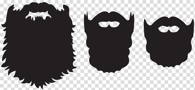 Black beard clipart clip art Three black beards illustration, Beard Santa Claus , Beard Set ... clip art