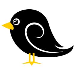 Black bird clipart images banner Black Bird Clip Art & Look At Clip Art Images - ClipartLook banner
