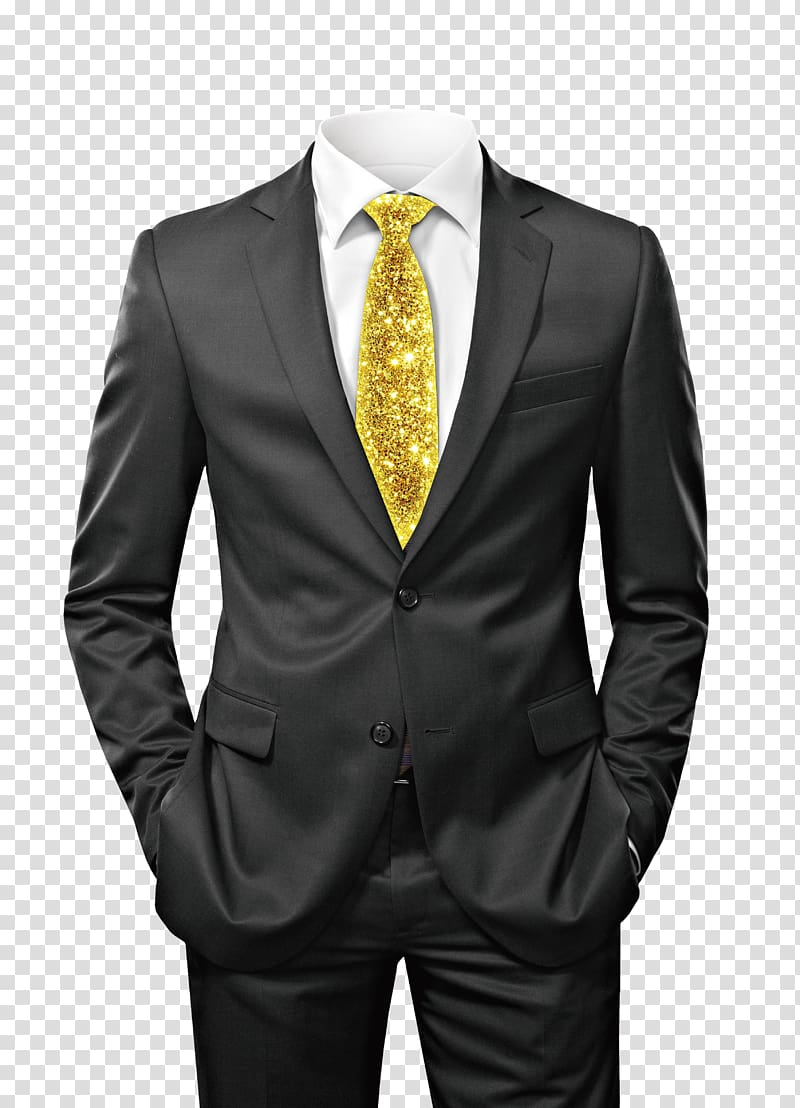 Tuxedo man clipart clip black and white Suit Clothing Tuxedo, Black suit, men\'s black suit jacket ... clip black and white
