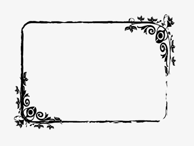 Black border clipart hd clipart royalty free library Black Border Frame Square PNG Image And Clipart For Free Perfect ... clipart royalty free library