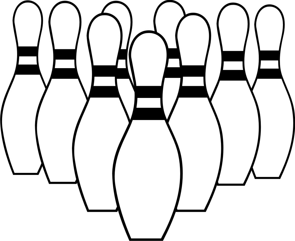 Black bowler clipart jpg stock Free Bowling Silhouettes Cliparts, Download Free Clip Art, Free Clip ... jpg stock