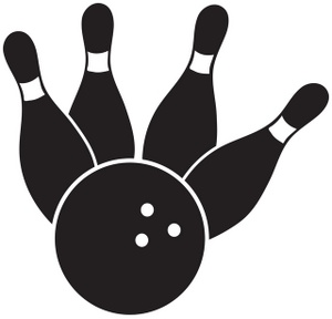 Black bowler clipart picture royalty free download Free bowling clipart printable free clipart images 3 - Clipartix picture royalty free download