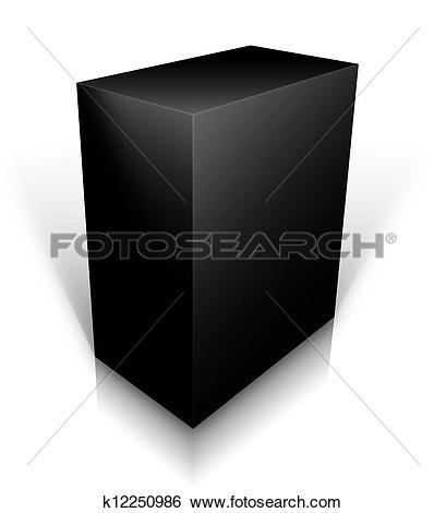 Black box clipart jpeg graphic transparent Stock Illustration of black box k12250986 - Search Clip Art ... graphic transparent