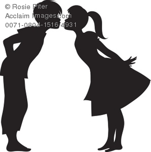Black boys and girls clipart transparent download Black And White Clipart Boy And Girl - Free Clipart transparent download