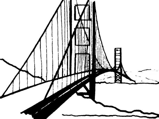 Black bridge clipart banner library library Black Bridge Cliparts 4 - 736 X 309 - Making-The-Web.com banner library library