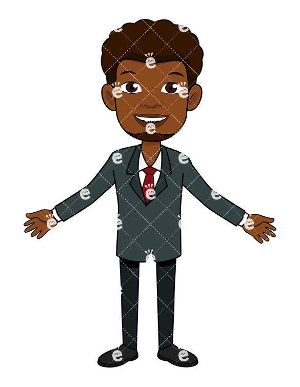 Black businessman clipart banner transparent A Black Businessman With Open Arms in 2019 | Black Businessman ... banner transparent