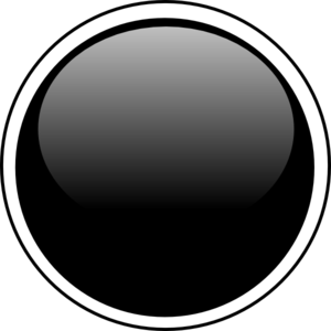 Black buttons clipart graphic free download Glossy Black Circle Button Clip Art at Clker.com - vector clip art ... graphic free download