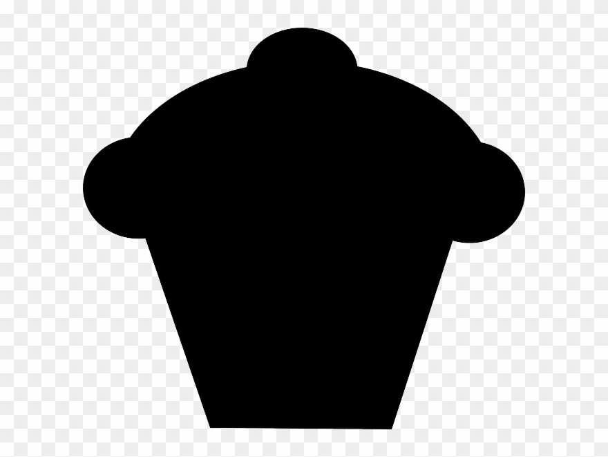 Black cake clipart clip black and white library Cupcake Muffin Silhouette Black Cake Baked - Cupcake Silhouette ... clip black and white library
