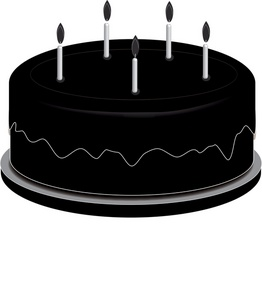 Black cake clipart png freeuse library Ooooh look a black cake | 1800ukillme png freeuse library
