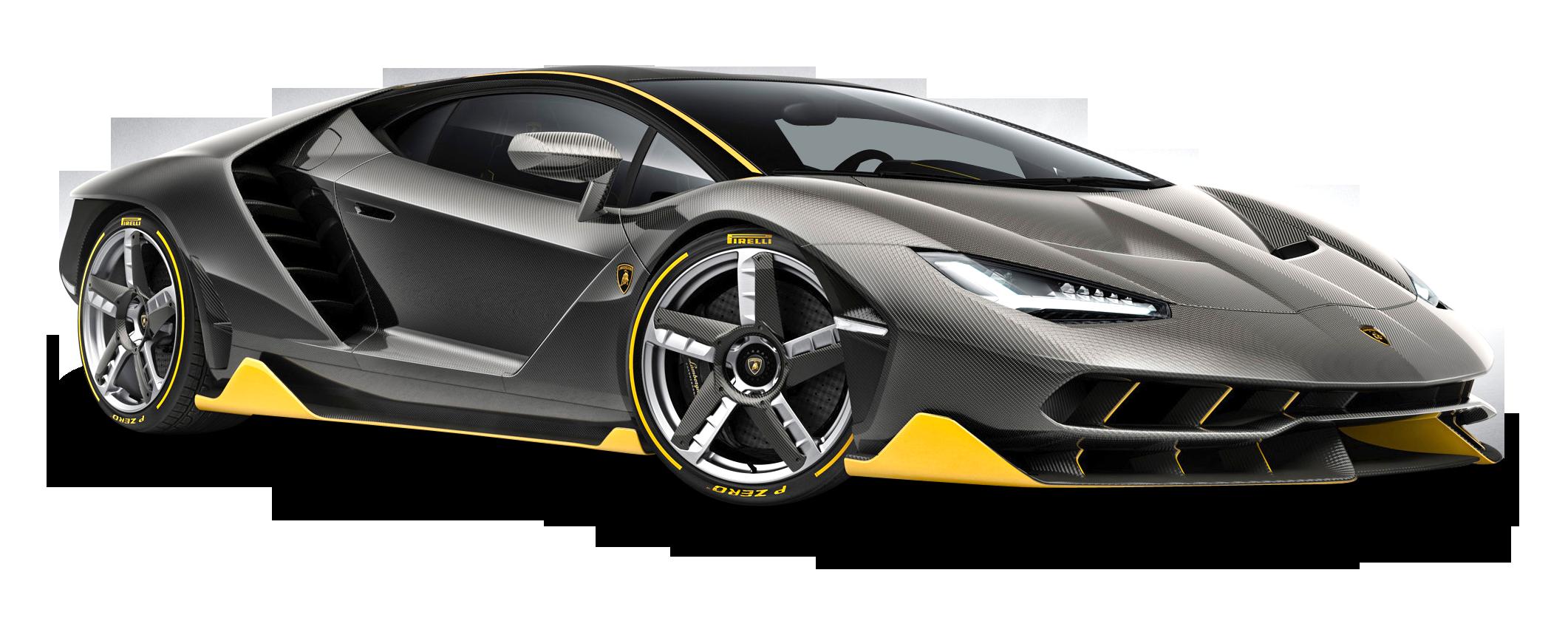 Black car clipart clip art free library Lamborghini Centenario LP 770 4 Black Car PNG Image - PurePNG | Free ... clip art free library