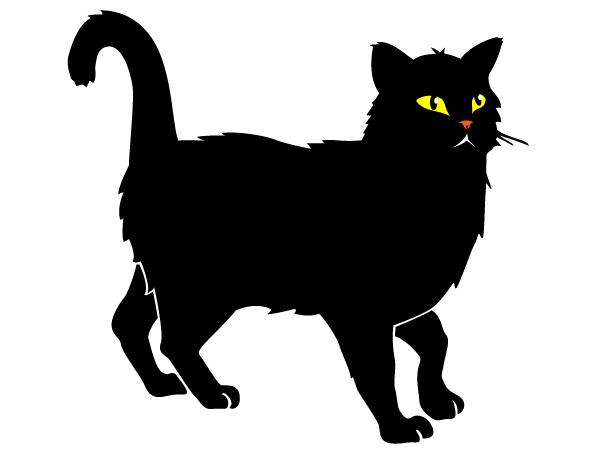 Black cartoon cat clipart clip art transparent library Free Cartoon Black Cat, Download Free Clip Art, Free Clip Art on ... clip art transparent library