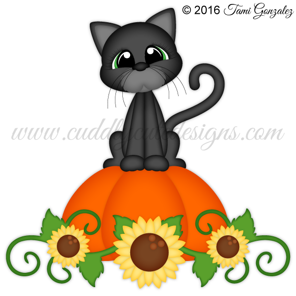 Cat and pumpkin clipart clip art royalty free Halloween clip art royalty free