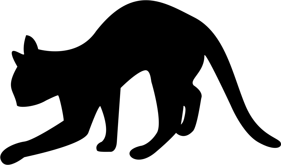 Black Cat Silhouette Svg Png Icon Free Download (#73363 ... picture download