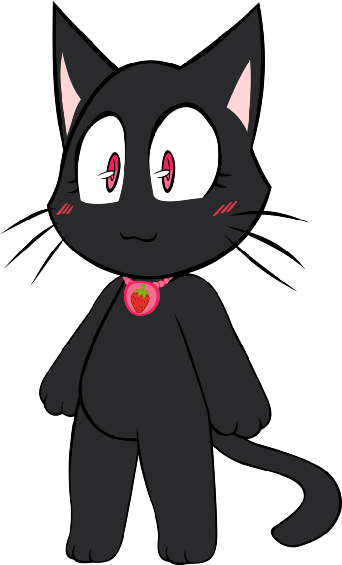 Black cat clipart click stars to rate royalty free I HAVE AN IDEA FOR A CUTE ANIME I WANNA MAKE by MEGARAINBOWDASH2000 ... royalty free