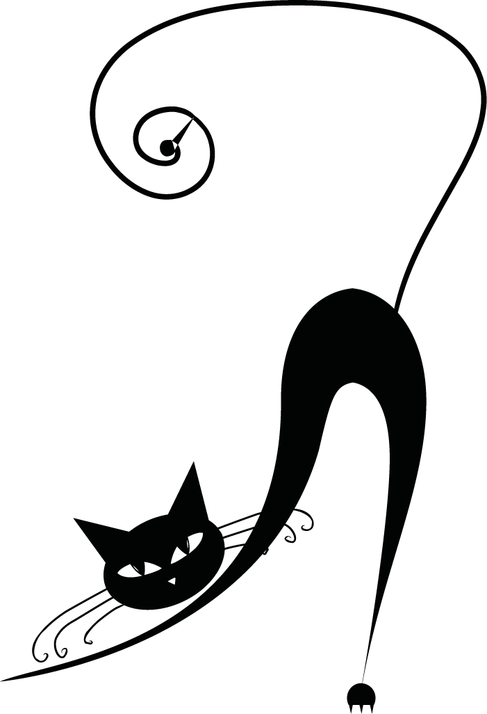 Black cat clipart fotor png black and white library black cat … | Pinteres… png black and white library