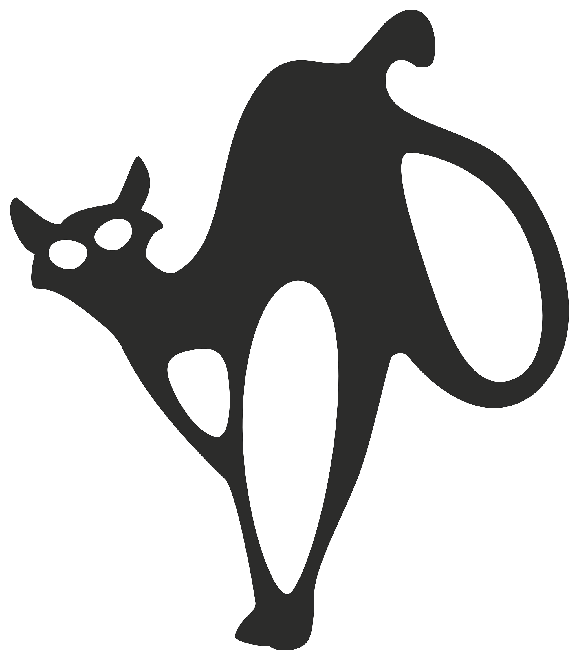 File:Black Cat.svg - Wikimedia Commons vector freeuse stock