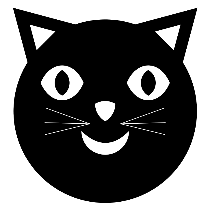 Happy cat clipart graphic download 28+ Collection of Black Cat Face Clipart | High quality, free ... graphic download