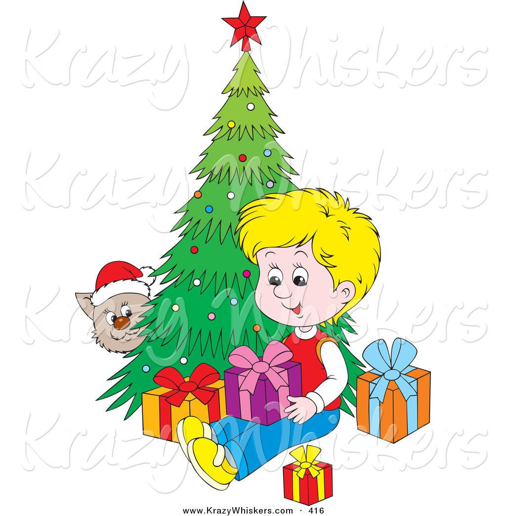 Black cat under christmas tree clipart clip free download Cat Clipart Christmas   Free download best Cat Clipart Christmas on ... clip free download