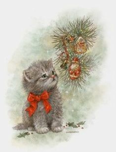Black cat under christmas tree clipart png library download Pinterest png library download