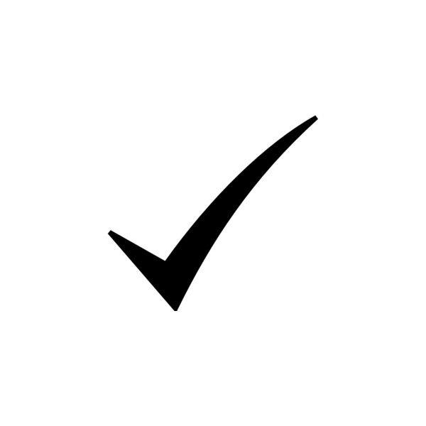 Black check mark clipart free stock Black Check Mark clip art ❤ liked on Polyvore | SWAG | Clip art ... free stock