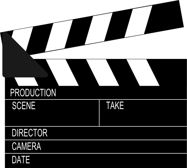 Movie star clipart black and white image transparent download Clicker Clip Art at Clker.com - vector clip art online, royalty free ... image transparent download