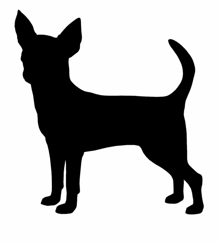 Black chihuhu clipart banner free download Chihuahua Clipart Chihuahua Silhouette - Black Chihuahua Silhouette ... banner free download