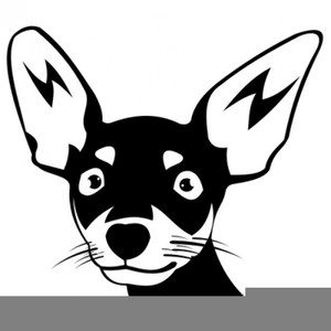 Black chihuhu clipart clip art transparent download Chihuahua Clipart Black White | Free Images at Clker.com - vector ... clip art transparent download