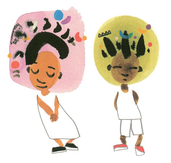 Black child happy to be nappy clipart clipart freeuse download Why Do Kids\' Books About Black Hair Draw So Much Attention — and ... clipart freeuse download