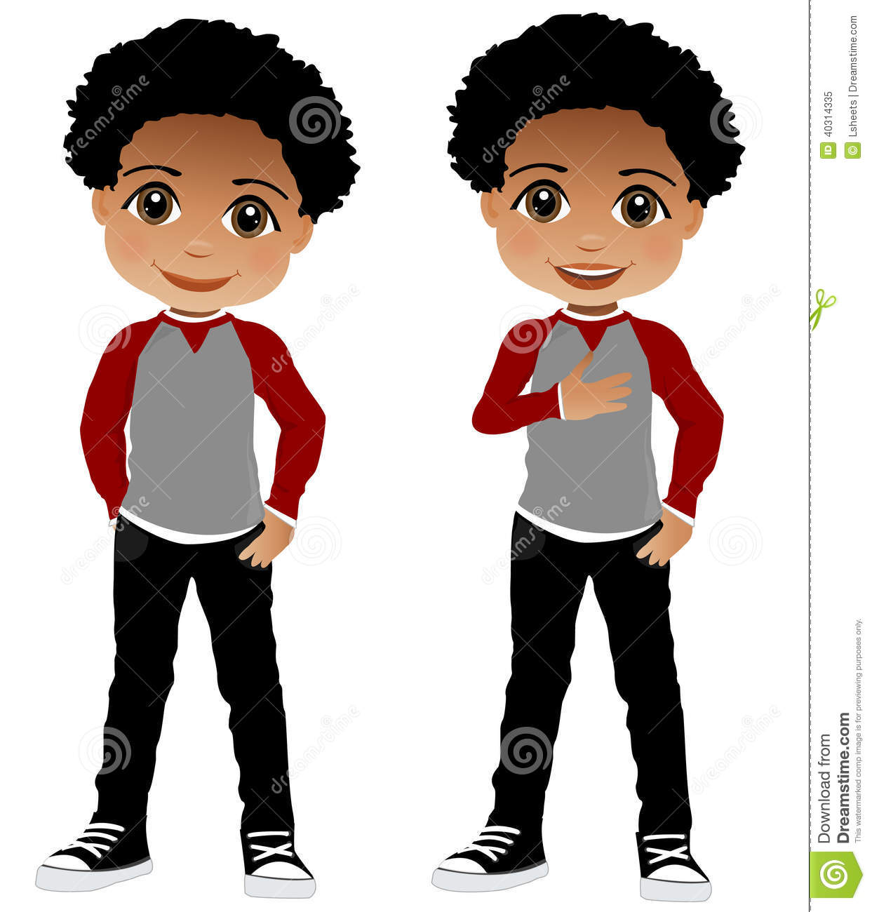 Afro clipart boy freeuse download Black children clipart 4 » Clipart Station freeuse download