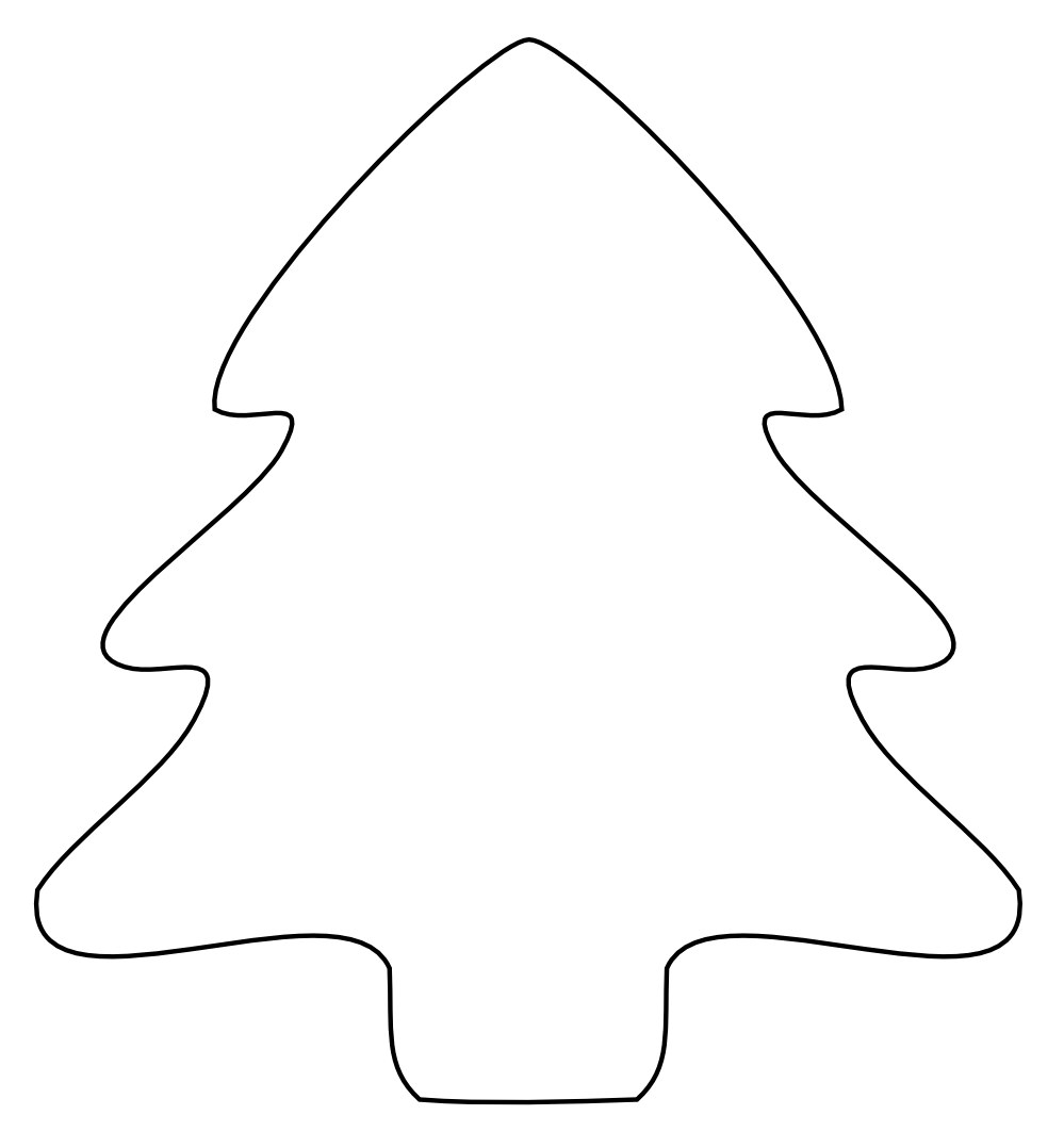 Black christmas tree clipart image download Christmas Tree Icon Black | Clipart Panda - Free Clipart Images image download