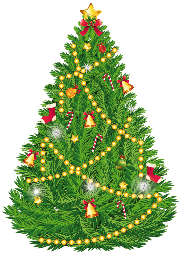 Christmas tree black clipart graphic freeuse Transparent Christmas Tree Clipart PNG Picture | Gallery ... graphic freeuse