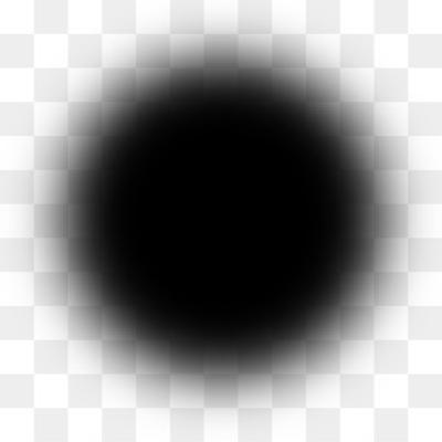 Black circle fade clipart