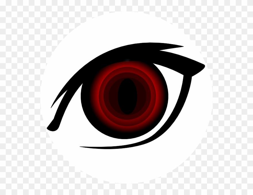 Black circle girl eye clipart clip royalty free stock Clip Black And White Girl Vampire Clipart At - Anime Red Eye Png ... clip royalty free stock