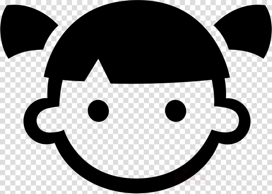 Black circle girl eye clipart graphic library stock Black Line Background clipart - Child, Girl, Black, transparent clip art graphic library stock