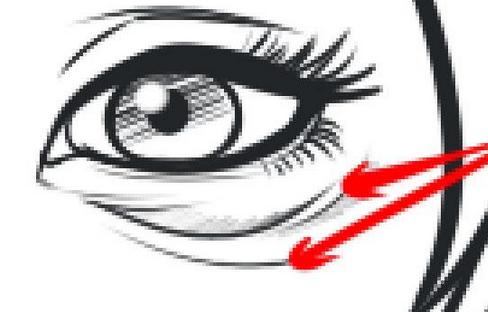 Black circle girl eye clipart royalty free stock Get Rid of Dark Circle – Sevenedges royalty free stock