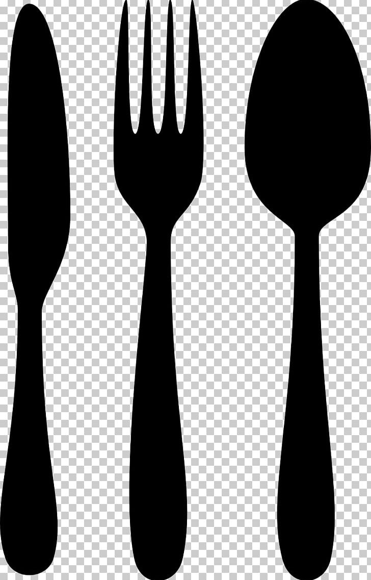 Black clipart cutlery png library download Knife Fork Spoon Cutlery Kitchen Knives PNG, Clipart, Black And ... png library download