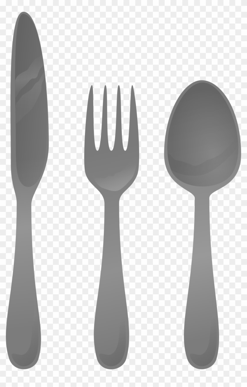 Black clipart cutlery vector black and white Picture Black And White Cutlery - Utensils Clipart, HD Png Download ... vector black and white